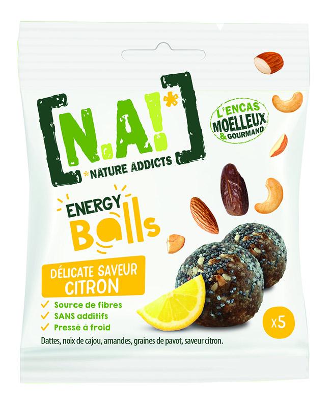 N.A ! Energy Balls -Délicate saveur Citron- 40g