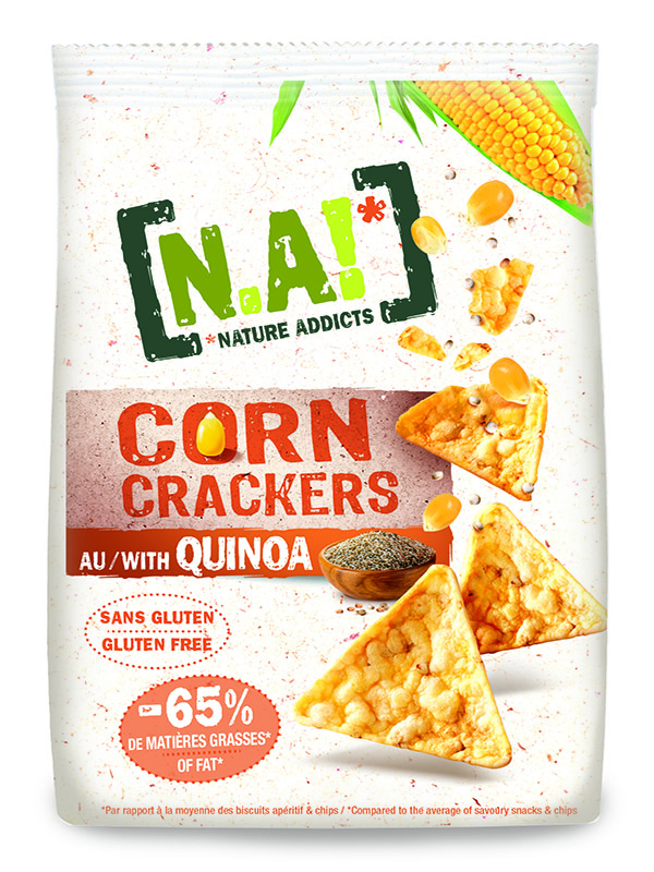 N.A ! Corn Crackers -Quinoa bio -50g-