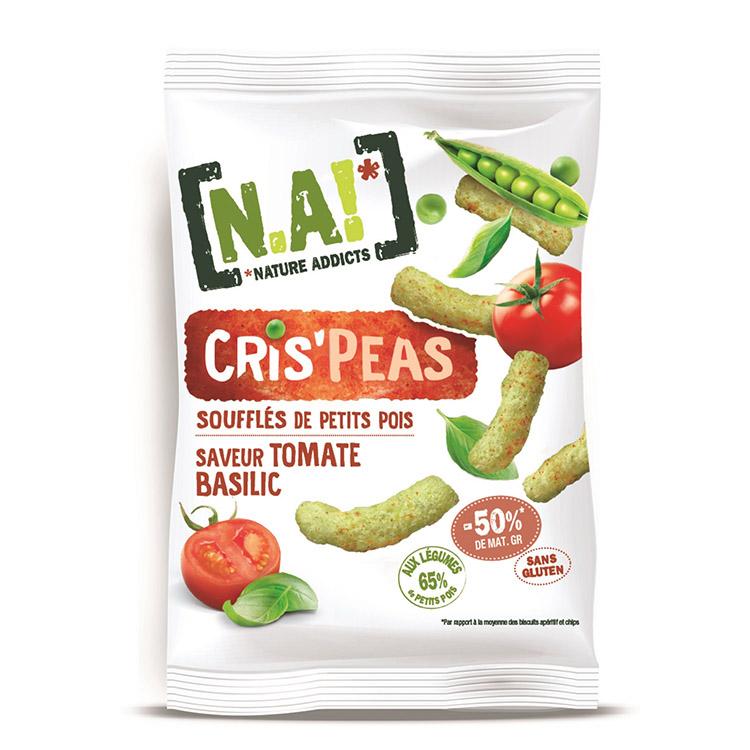 [N.A!] Cris\'Peas -Tomate Basilic- 50g