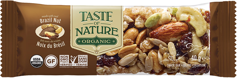 Barre Taste of Nature -Brazilian Nut Fiesta- 40g