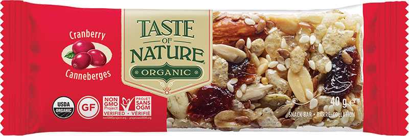 Barre Taste Of Nature -Cranberry Carnival- 40g