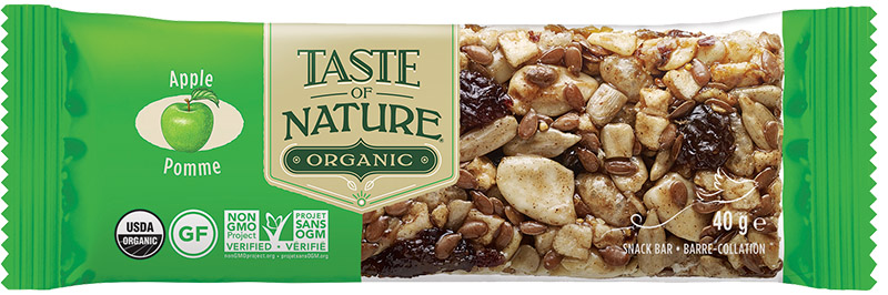 Barre Taste Of nature -Niagara Apple Country- 40g