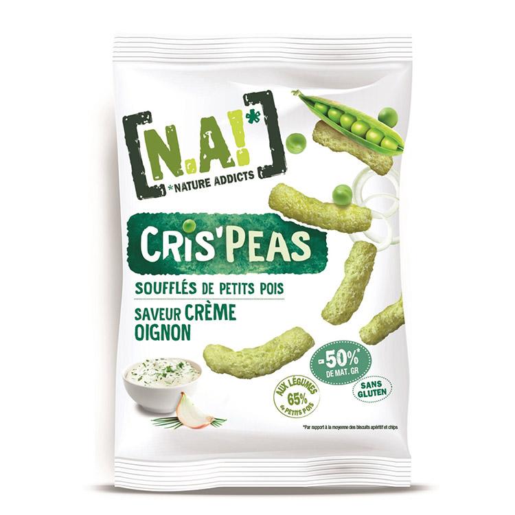 [N.A!] Cris\'Peas -Oignon & Crème- 50g