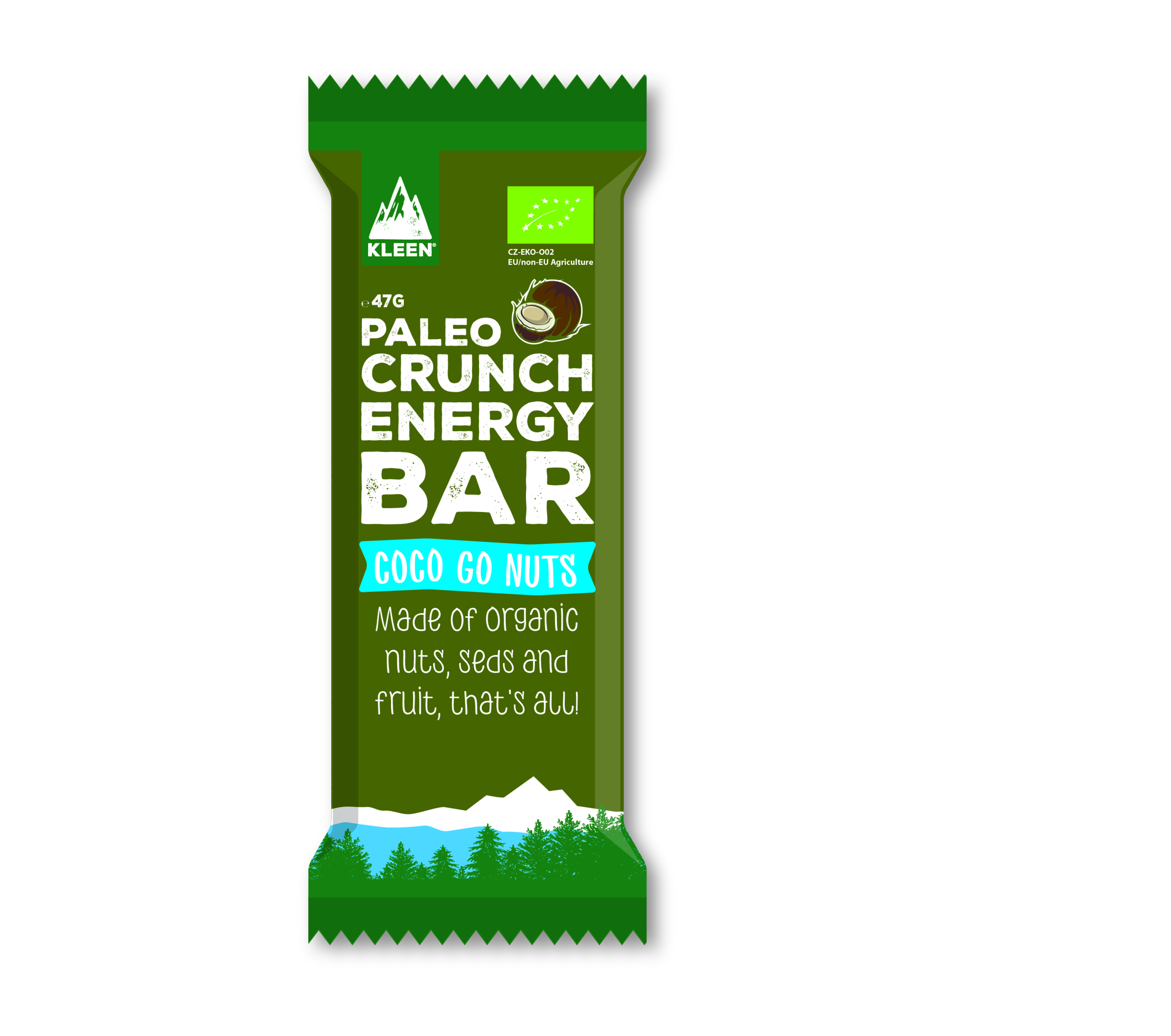 Barre Paléo Crunch ENERGY -Coco- 47g