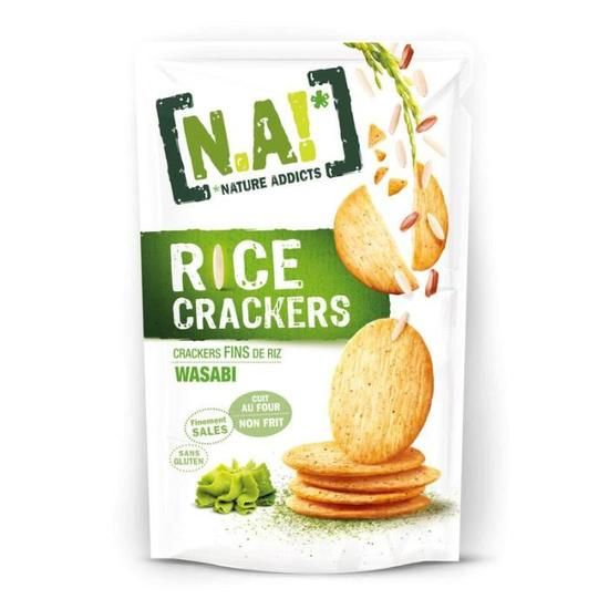 [N.A!] Rice Crackers - Wasabi - 70g