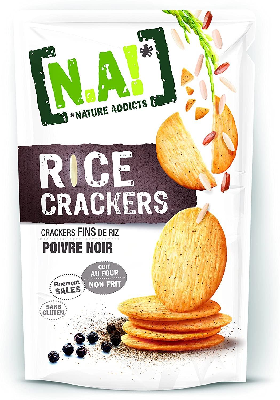 [N.A!] Rice Crackers - Poivre Noir - 70g