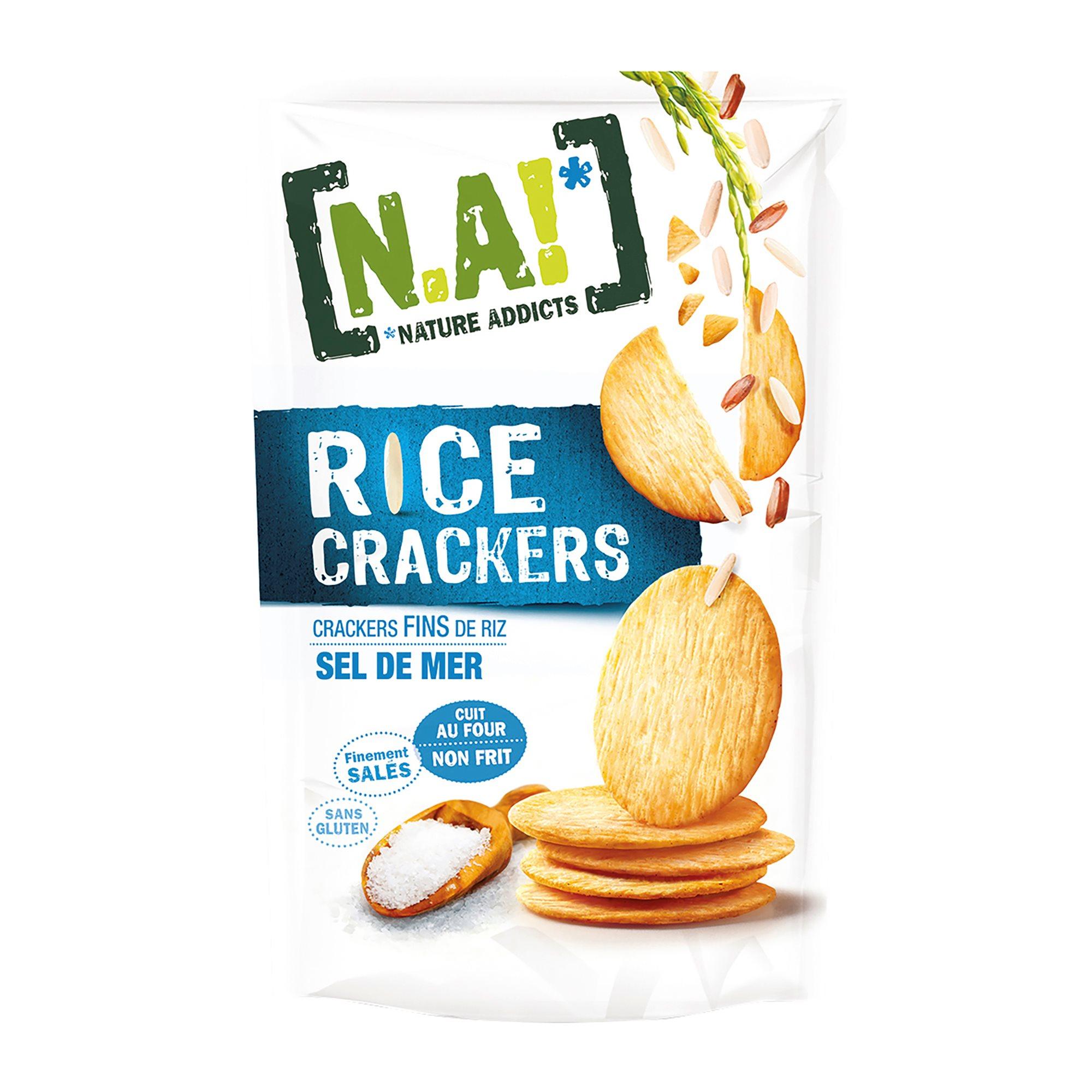 [N.A!] Rice Crackers - Sel de Mer - 70g