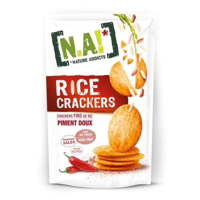[N.A!] Rice Crackers - Piment Doux - 70g