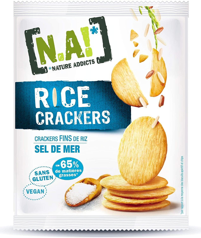 [N.A!] Rice Crackers - Sel de Mer - 12 x 35g