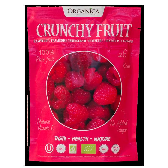 Crunchy Fruit Framboises -Organica Food- 12g