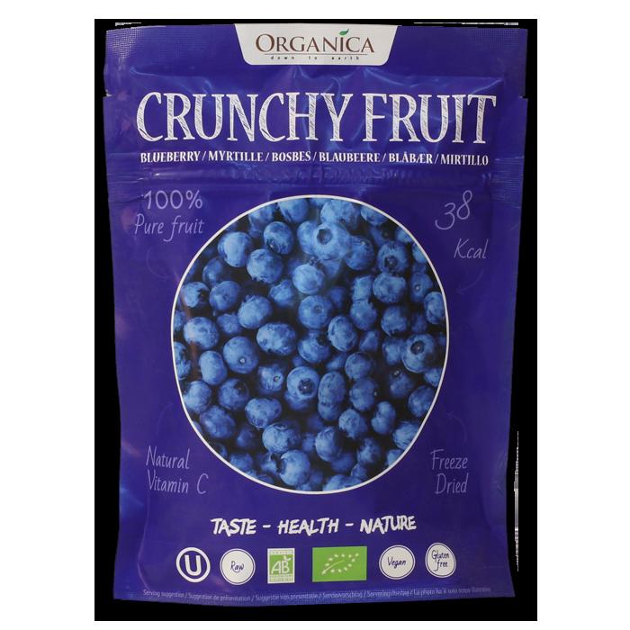 Crunchy Fruit Myrtilles -Organica Food- 12g