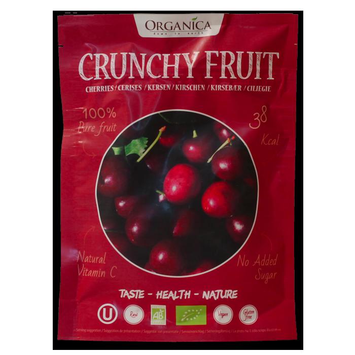 Crunchy Fruit Cerises -Organica Food- 12g