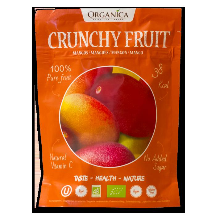 Crunchy Fruit Mangues -Organica Food- 12g