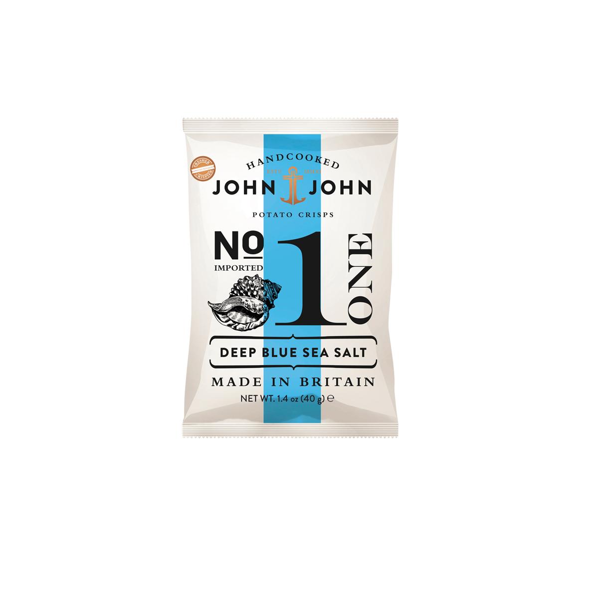 John & John N°1 Légèrement Salées - 40g