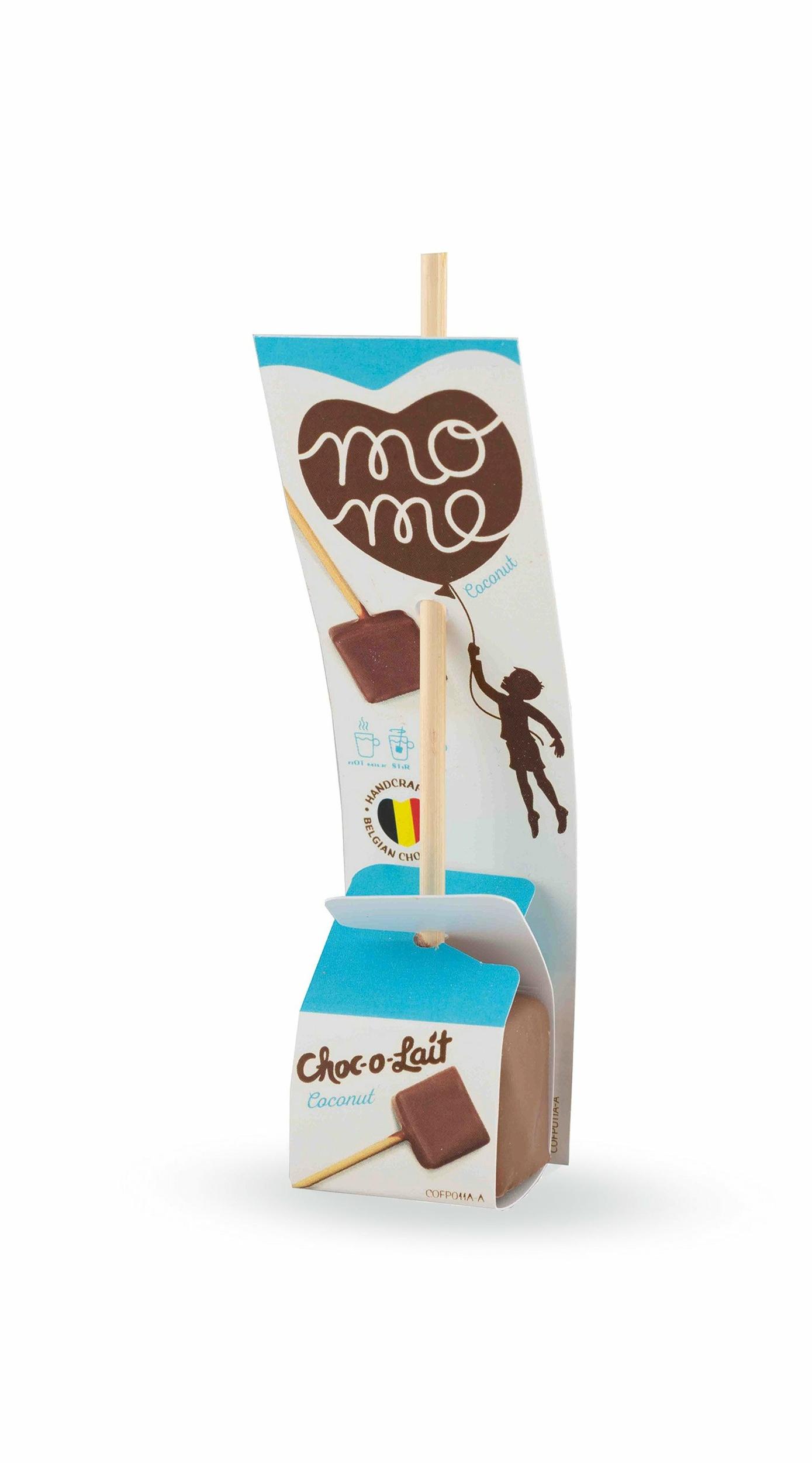 Choc-o-lait -Bâtonnet de Chocolat à la Noix de Coco - 33g - OFFRE SPECIALE DLC 27 NOVEMBRE