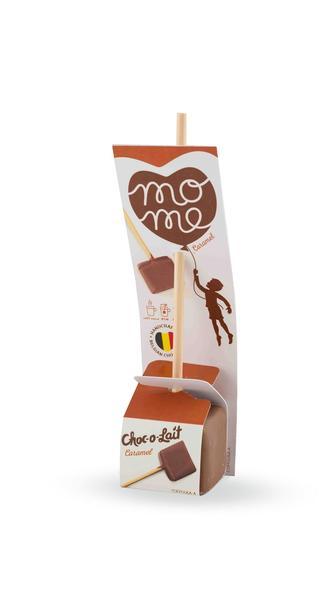 Choc-o-lait - Bâtonnet de Chocolat au Caramel - 33g - OFFRE SPECIALE DLC 08 NOVEMBRE