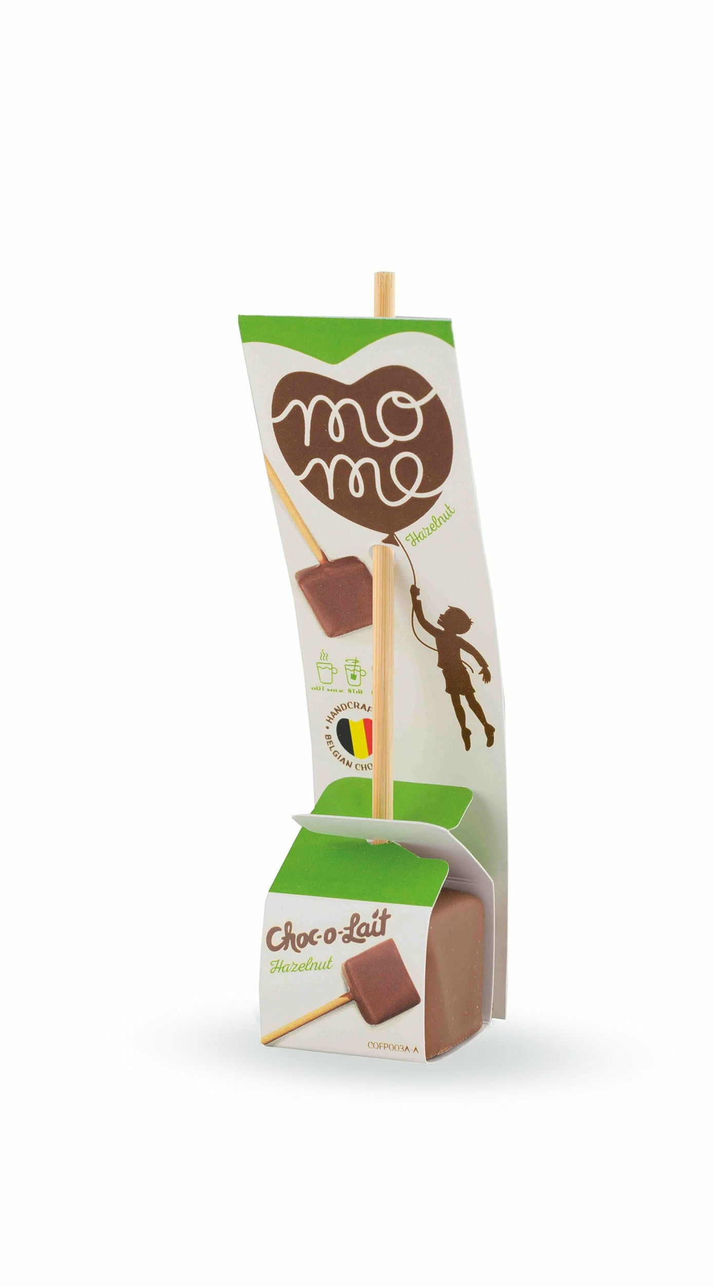 Choc-o-lait - Bâtonnet de Chocolat à la Noisette - 33g -