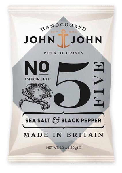 John & John N°5 Sel de Mer & Poivre Noir - 40g