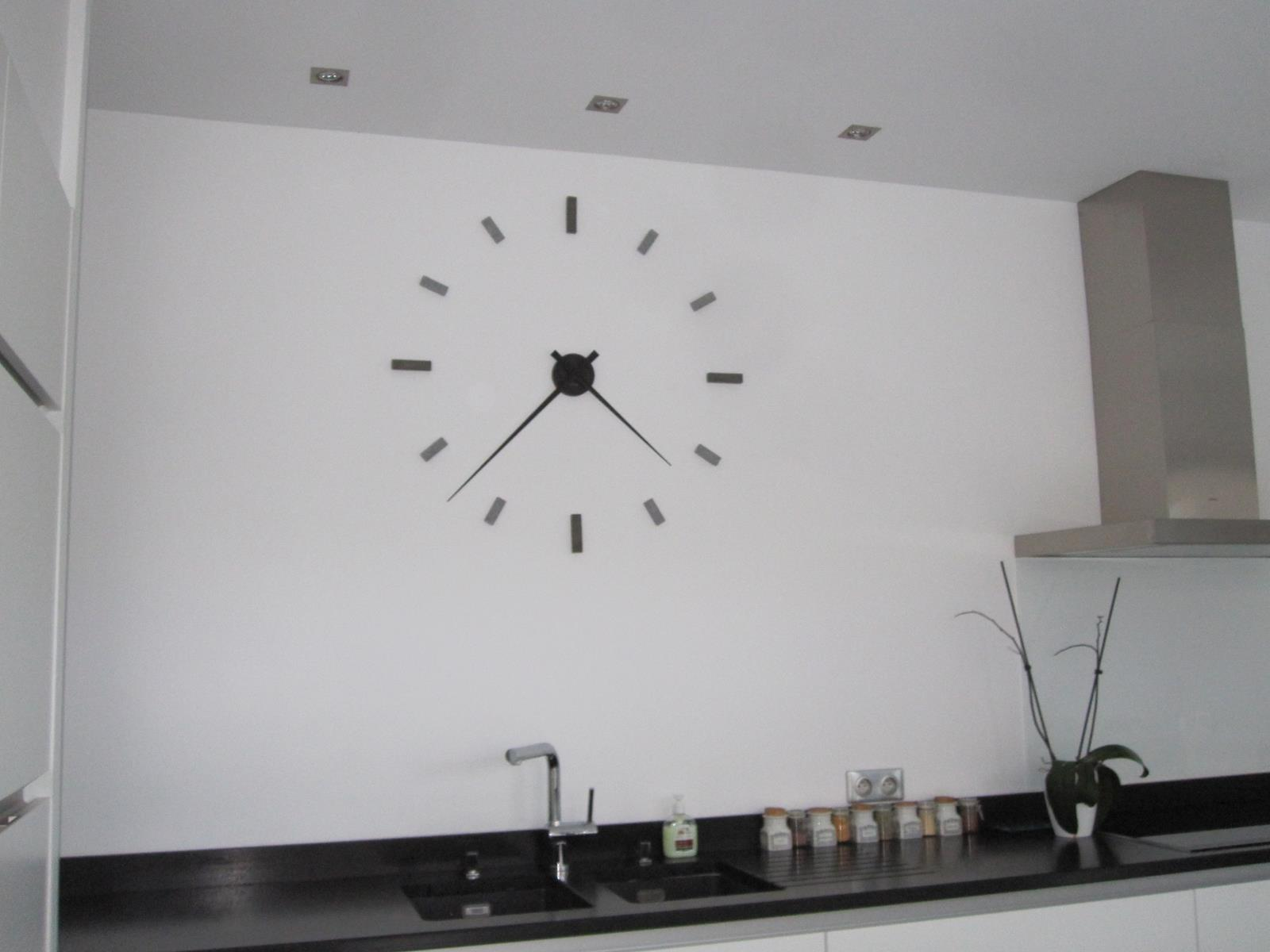 Horloge decoration cuisine for Horloge de cuisine moderne