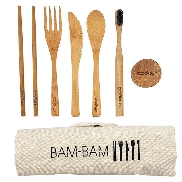Bam Bam : le kit repas en bambou
