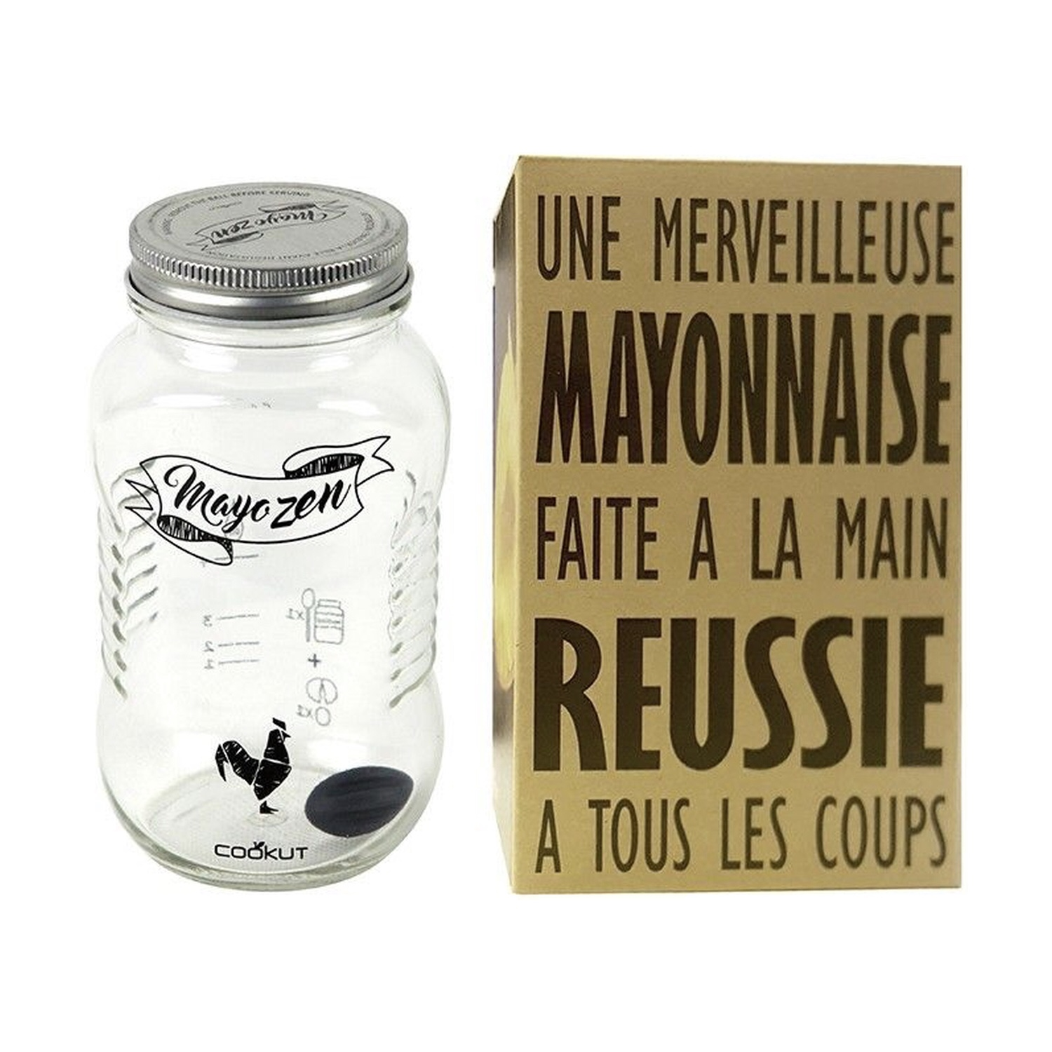 Mayozen : le shaker à mayonnaise facile