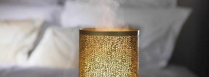 CHEZ UGO ET LEA lumière et senteur esteban diffuseur de brume or et lumière 4