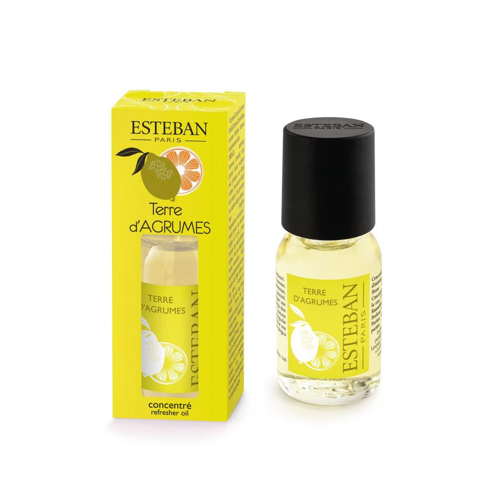 Concentré de parfum d'ambiance TERRE D\'AGRUMES (Esteban)