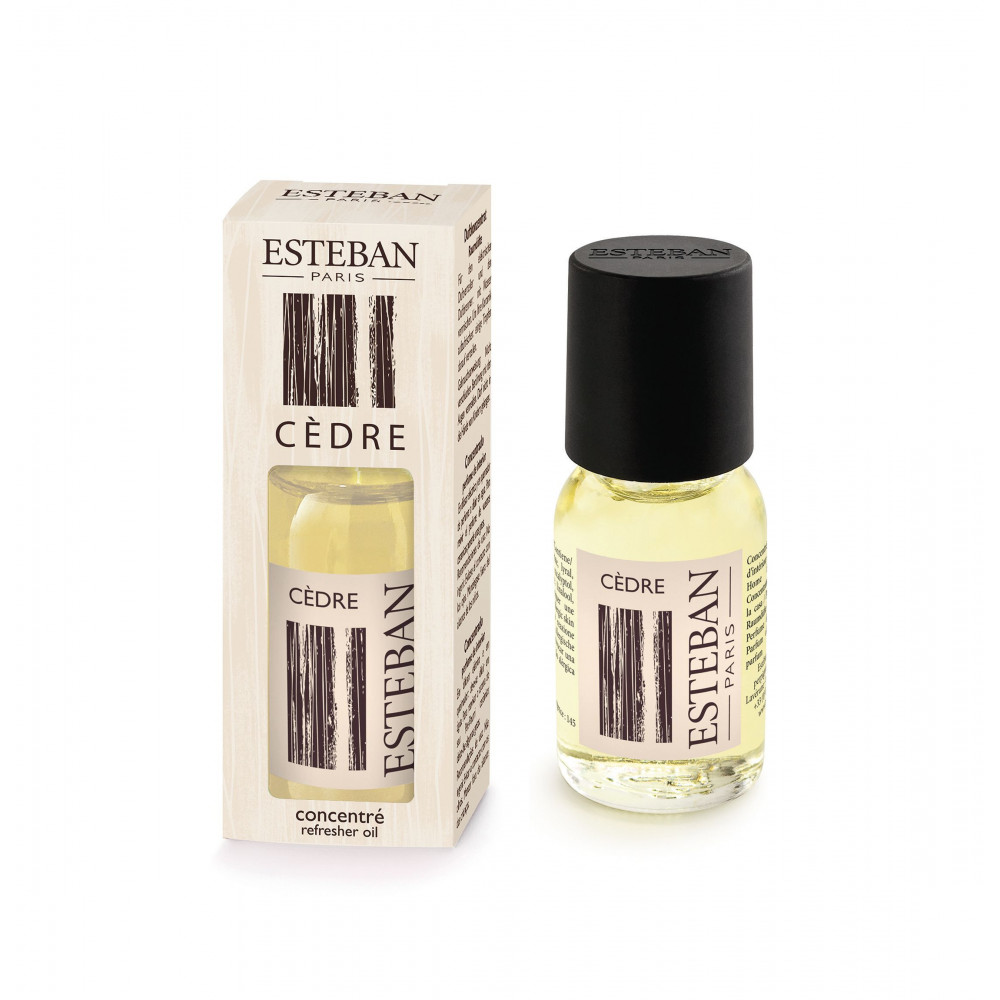 Concentré de parfum d'ambiance CEDRE (Esteban)