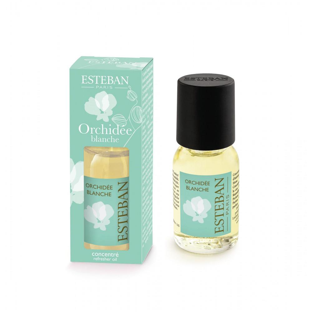 Concentré de parfum d'ambiance ORCHIDEE BLANCHE (Esteban)