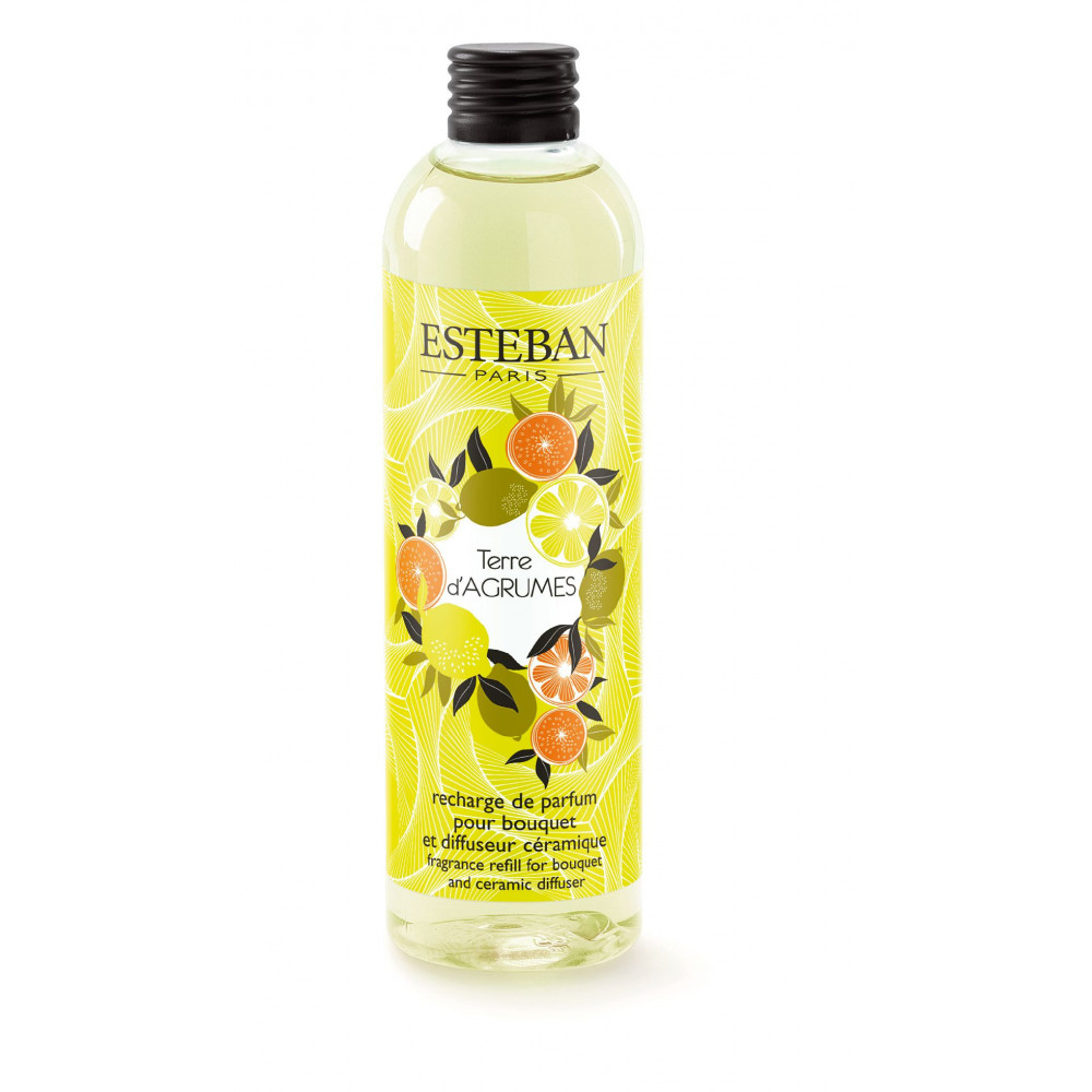 Recharge pour bouquet parfumé TERRE D'AGRUMES (Esteban)