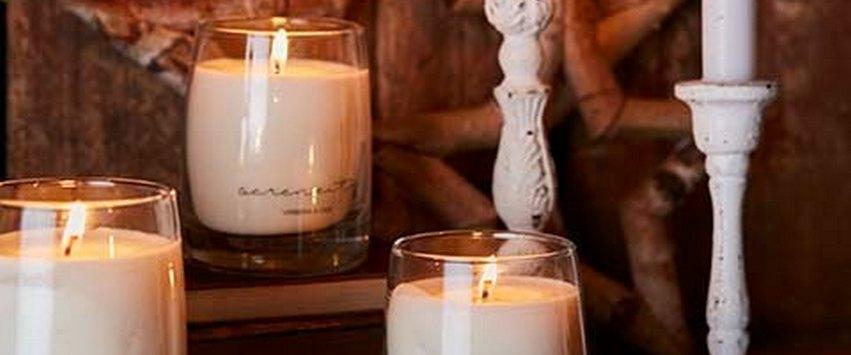 CHEZ UGO ET LEA lumière et senteurs bougie parfumées serenity tubereuse