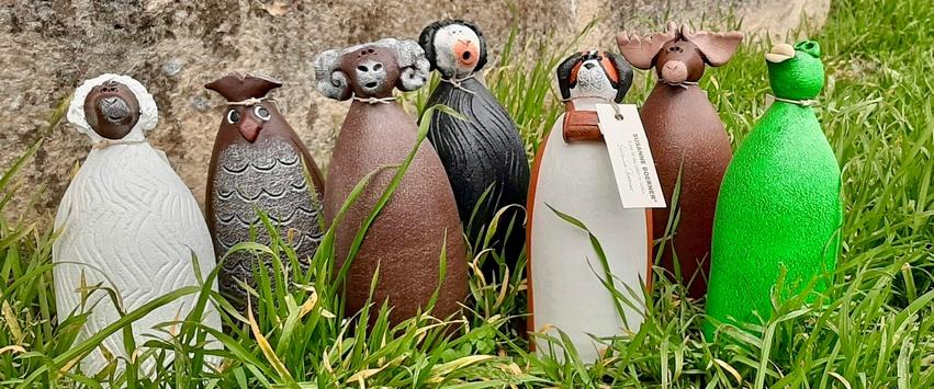 CHEZ UGO ET LEA nature et végétal décoration jardin statuette animaux