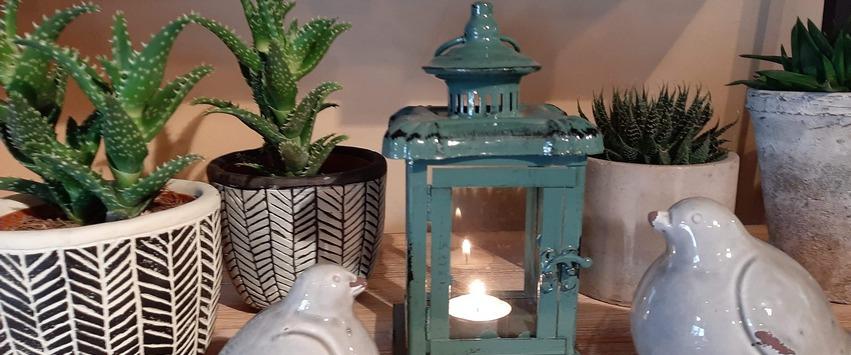 CHEZ UGO ET LEA lumière et senteurs photophore lanterne eschert design