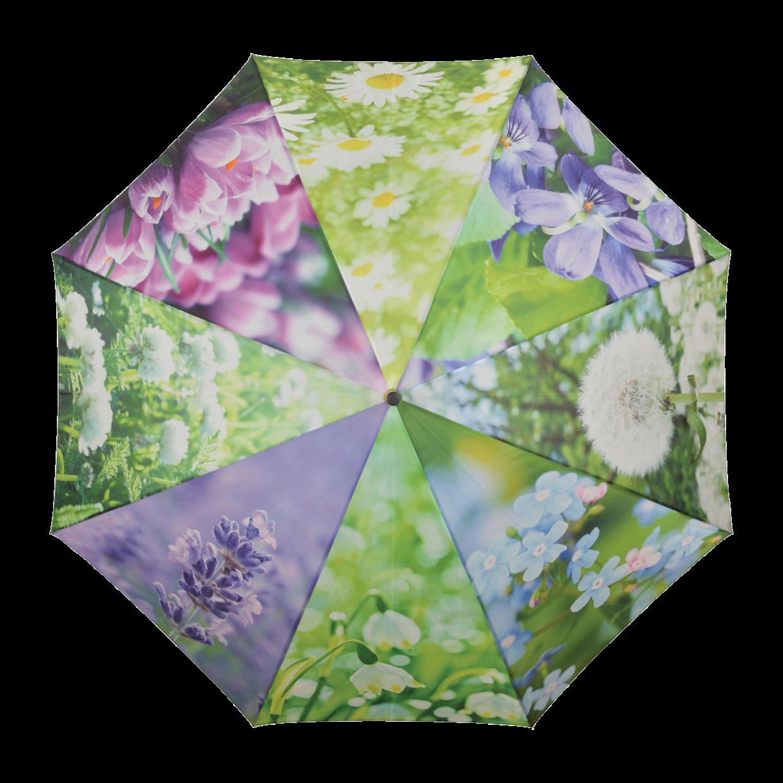 Parapluie « une pluie de fleurs … »