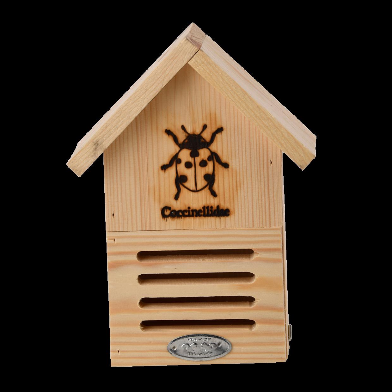 Hôtel à insectes : abri à coccinelles Silhouette