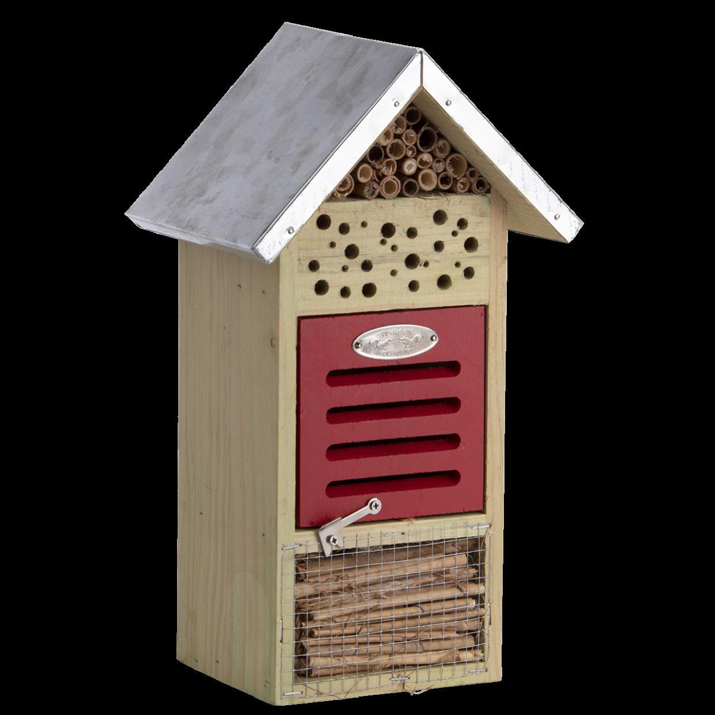 Hôtel à insectes pour abeilles et coccinelles (M)