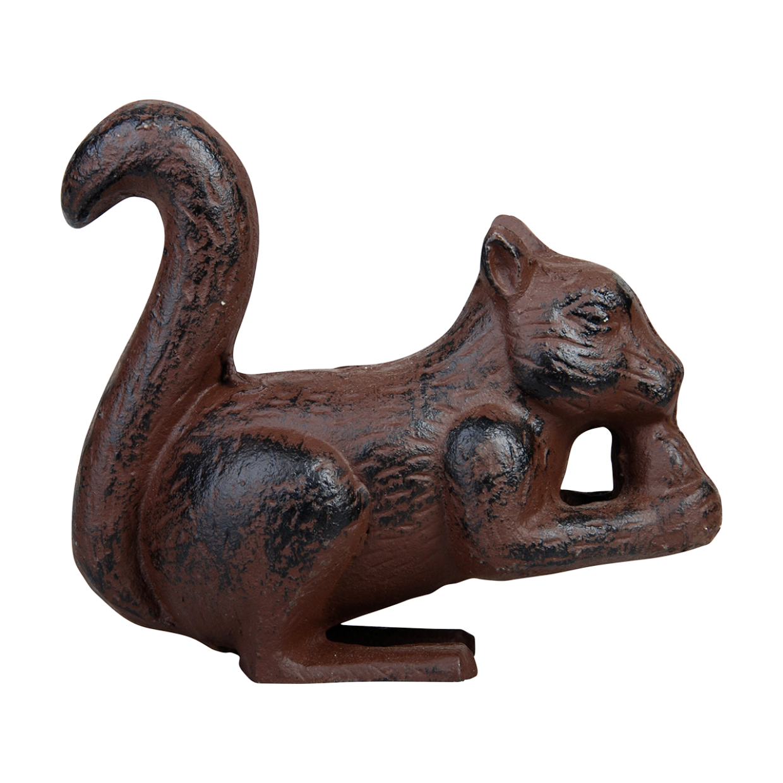 Écureuil en fonte (objet décoratif)