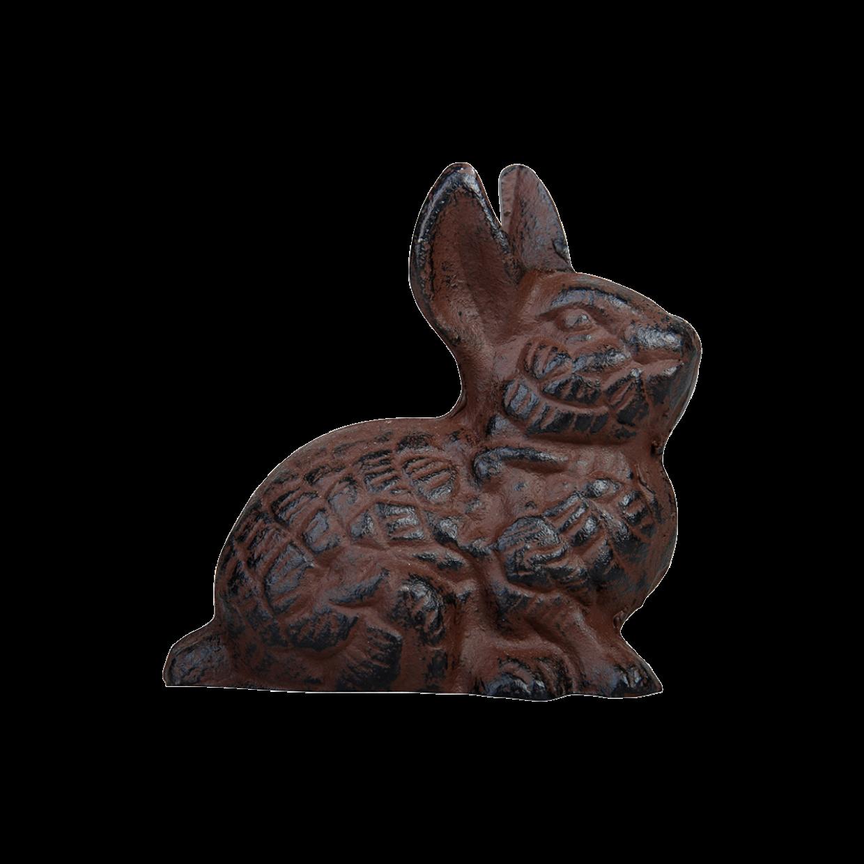 Lièvre en fonte (objet décoratif)
