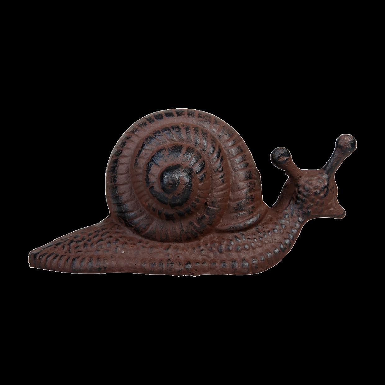 Escargot en fonte (objet décoratif)