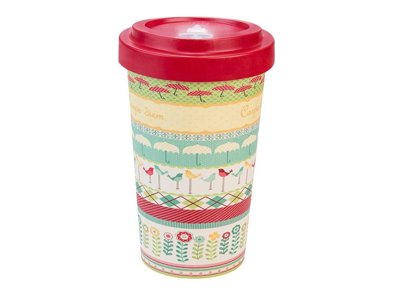 Bamboo cup / mug en bambou Carpe diem