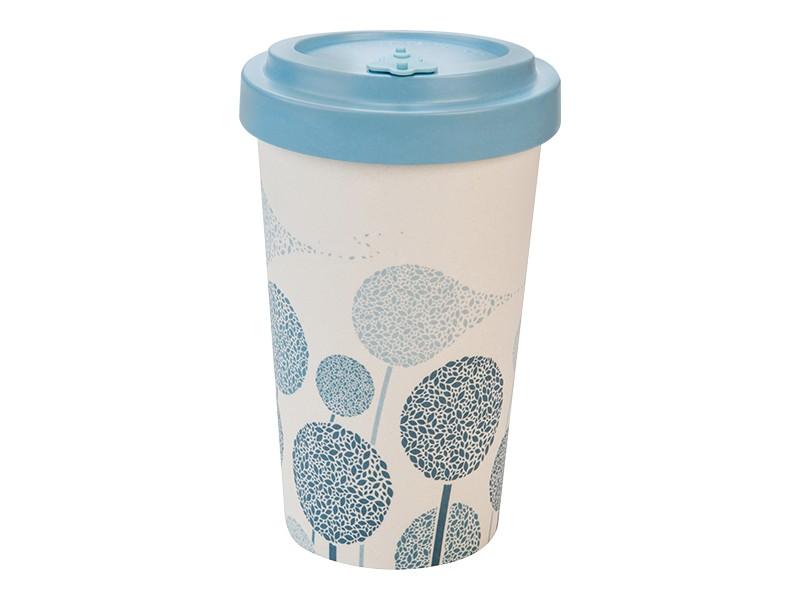 Bamboo cup / mug en bambou Dents-de-lion