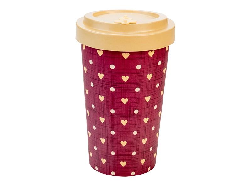 Bamboo cup / mug en bambou Love