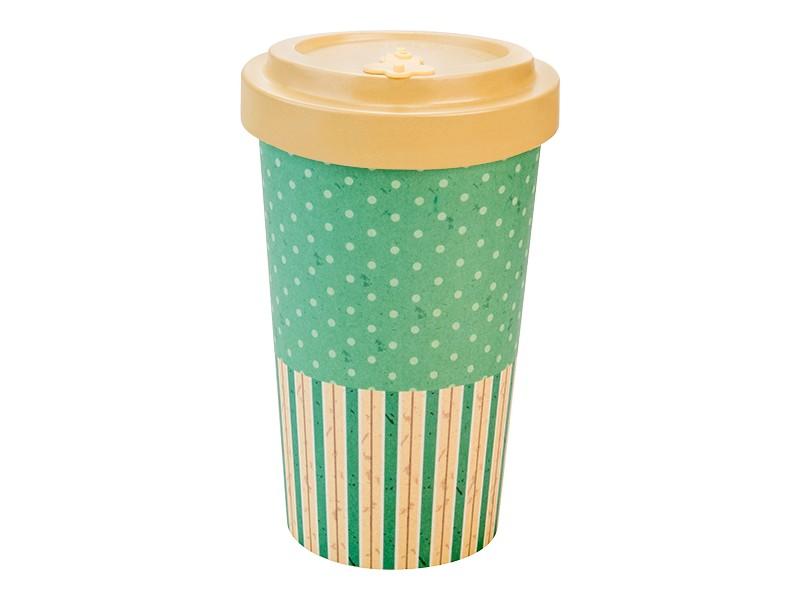 Bamboo cup / mug en bambou Rétro