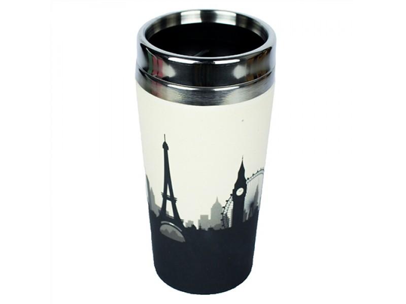 Traveler Bamboo cup / mug de voyage en bambou Cosmopolitan