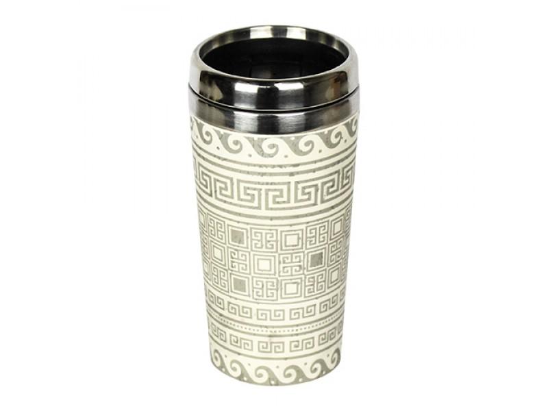 Traveler Bamboo cup / mug de voyage en bambou Grec