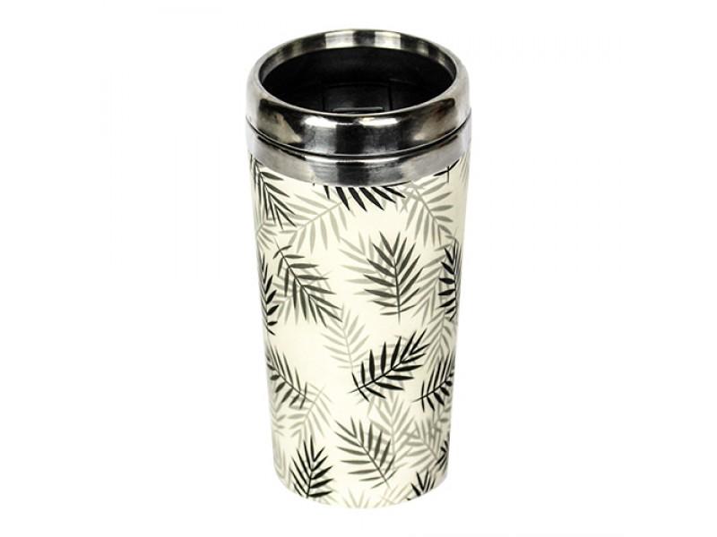 Traveler Bamboo cup / mug de voyage en bambou Feuilles