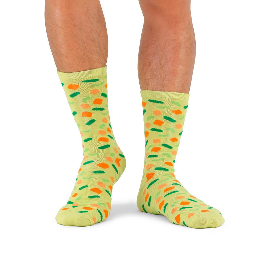Soup socks légumes de printemps - soupe de chaussettes ou chaussettes à soupe ?