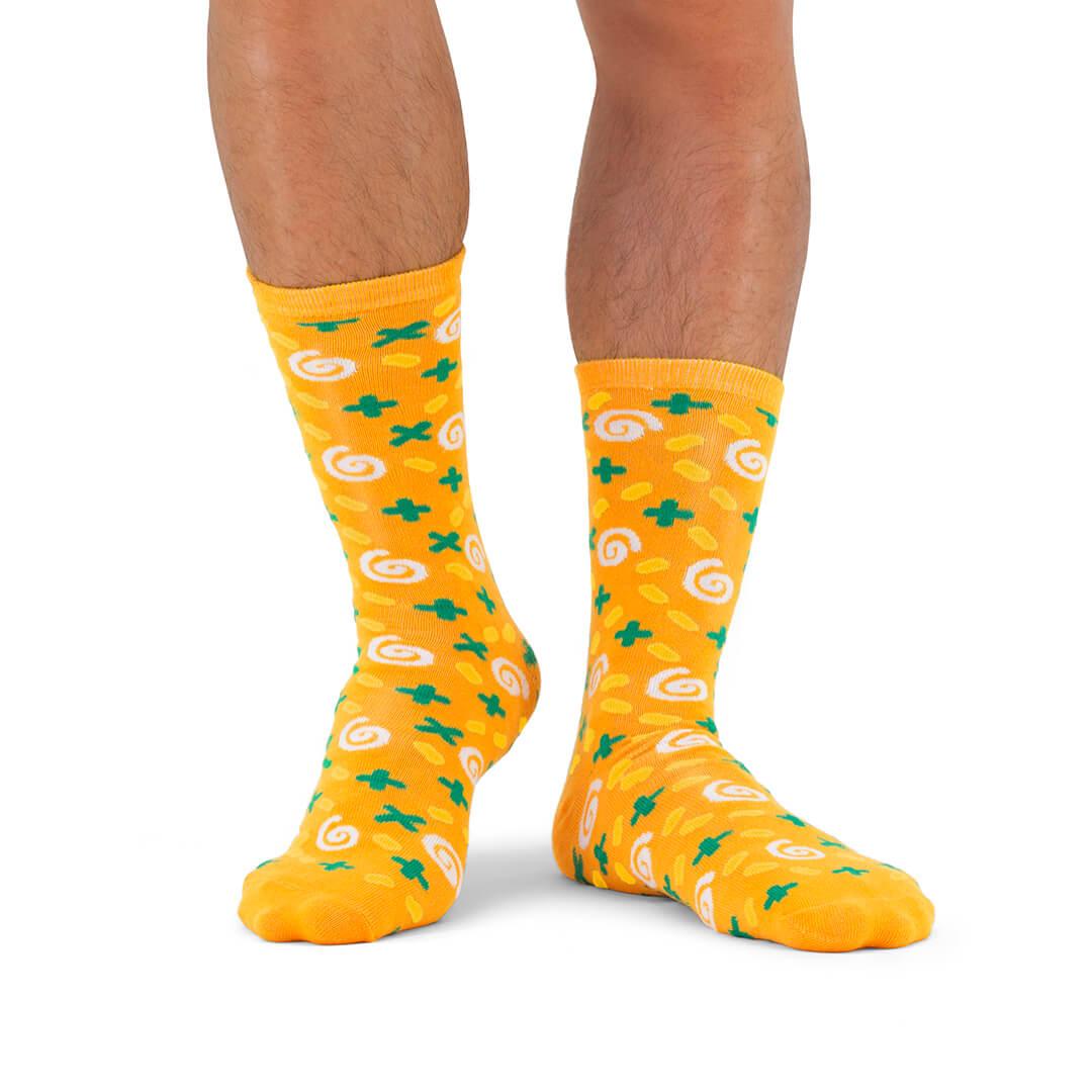 Soup socks carotte et coriandre - soupe de chaussettes ou chaussettes à soupe ?