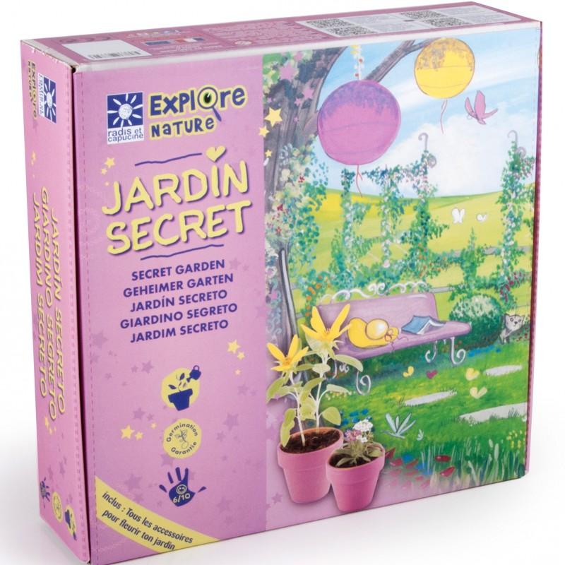 Coffret mon jardin secret pour des fleurs à la maison