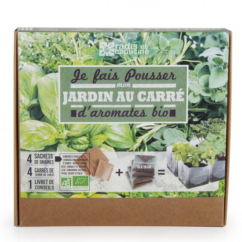 Jardin de cuisine : mon carré d'aromates bio